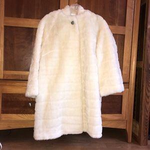 Vintage Handmade Faux Fur Jacket